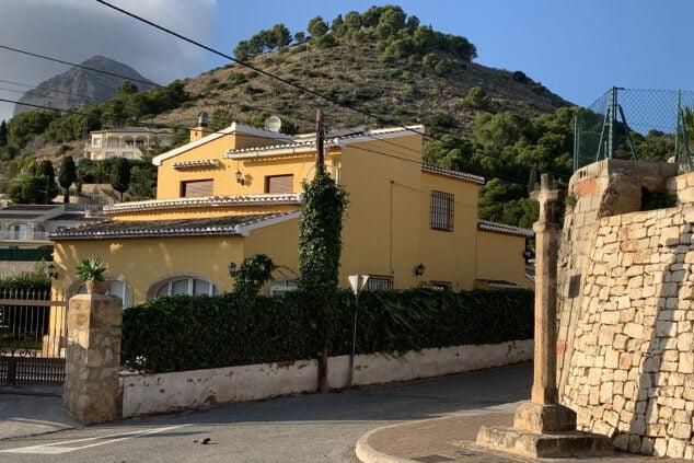 Imagen: Cruz del Camino de Santa Lucía