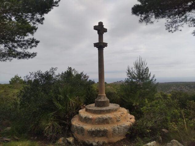 Imagen: Cruz de término de la Plana