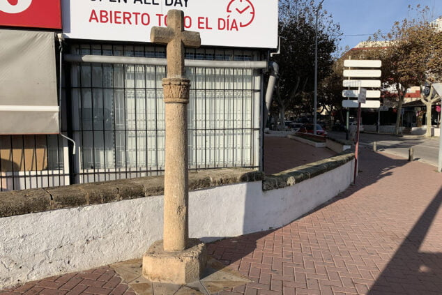 Imagen: Cruz del Arenal de Jávea