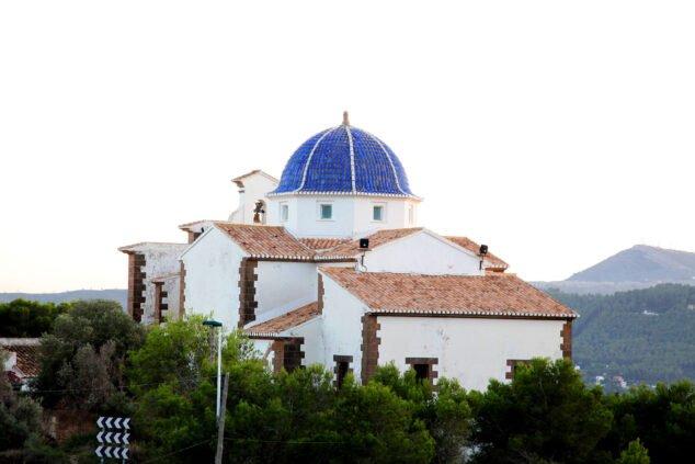 Imagen: Vista de la Ermita del Calvari de Xàbia