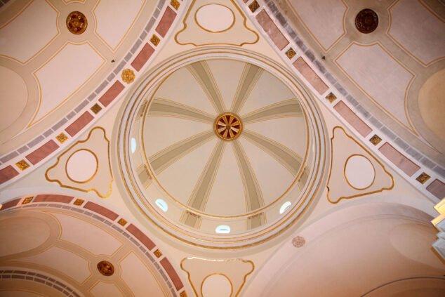 Imagen: Vista desde dentro de la cúpula de la Ermita del Calvari de Xàbia