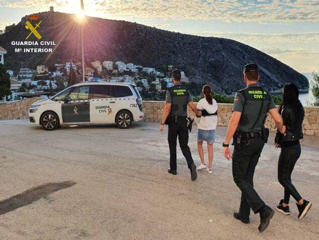 Imagen: Detenidas por varios robos en la Marina Alta