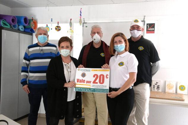 Imagen: Donativo del Club Leones