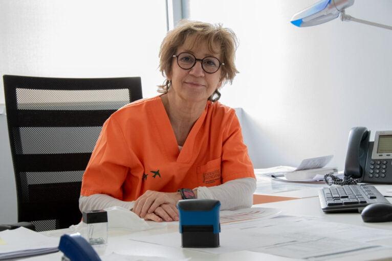 Dra. Patricia Martín Rico del Hospital de Dénia