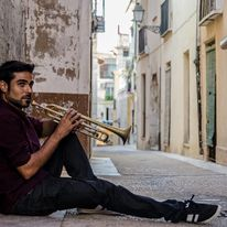 El trompetista Juan Miguel