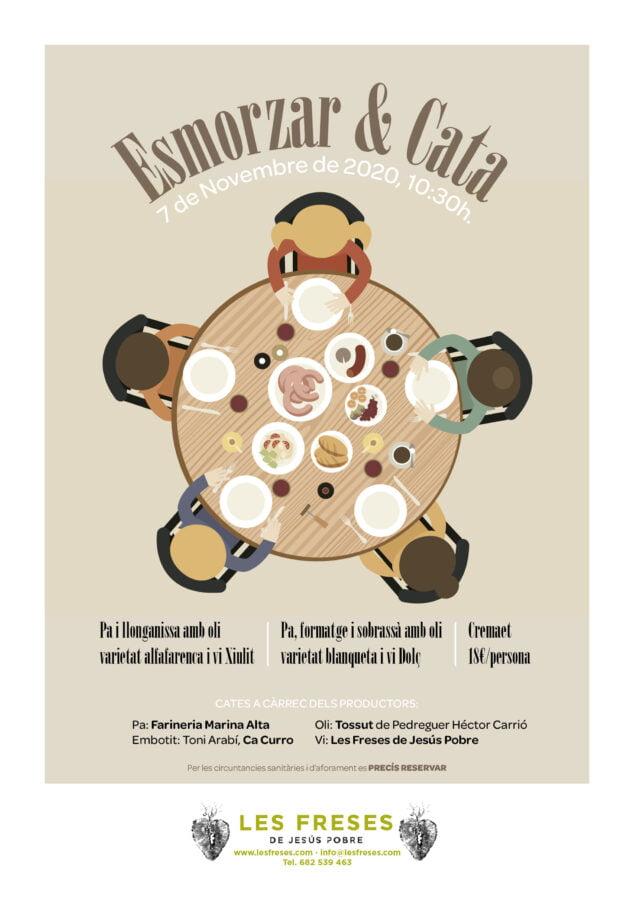 Imagen: Esmorzar & Cata - Celler Les Freses
