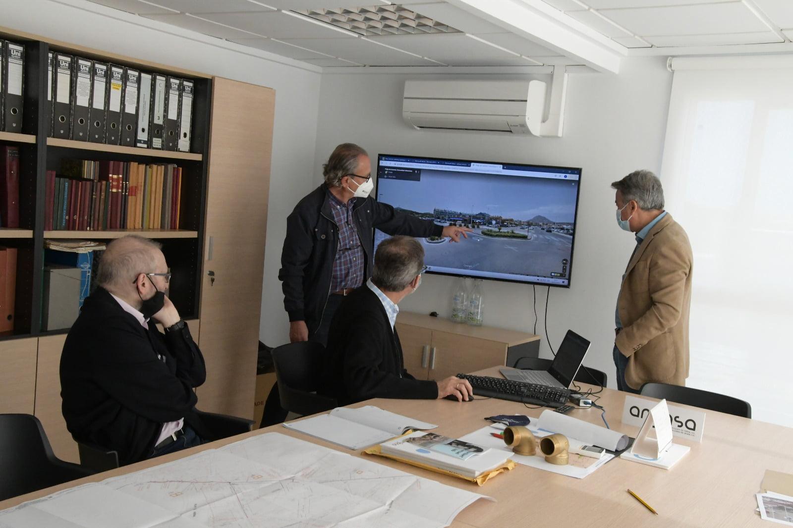 Estudian las posibles soluciones a la inundabilidad del Arenal