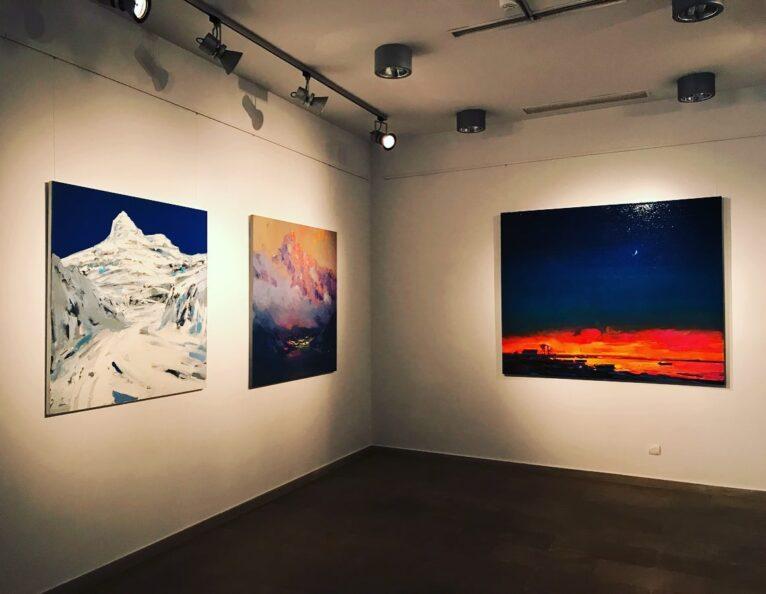 Exposición de Anton Gudzykevych