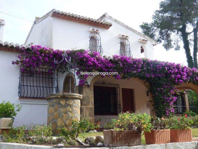 Imatge: Façana d'un xalet en venda a Xàbia - Immobiliària Belen Quiroga