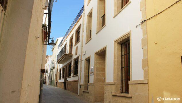 Imagen: Fachada del archivo municipal