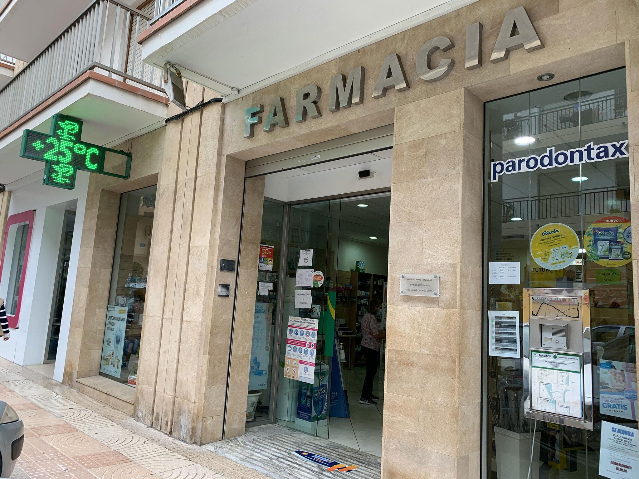 Farmacia Garcés Morales de Jávea
