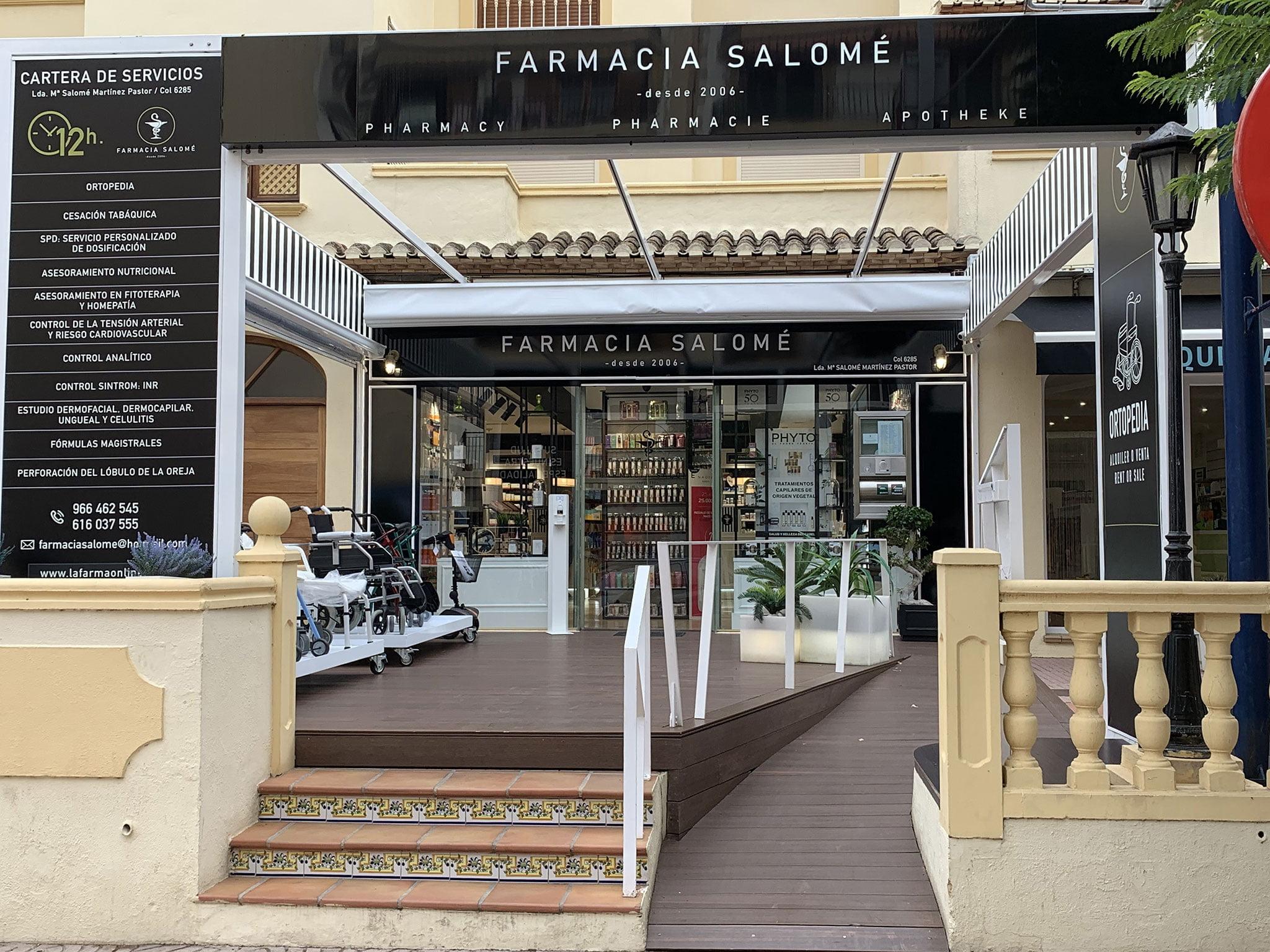 Farmacia Mª Salomé Martínez Pastor