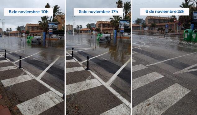 Imagen: Fotos del estado de inundación en el Arenal por las últimas lluvias