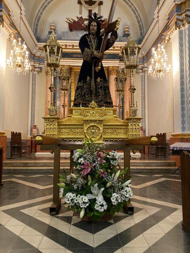 Imagen: Imagen del Jesús Nazareno en la Ermita del Calvario de Jávea