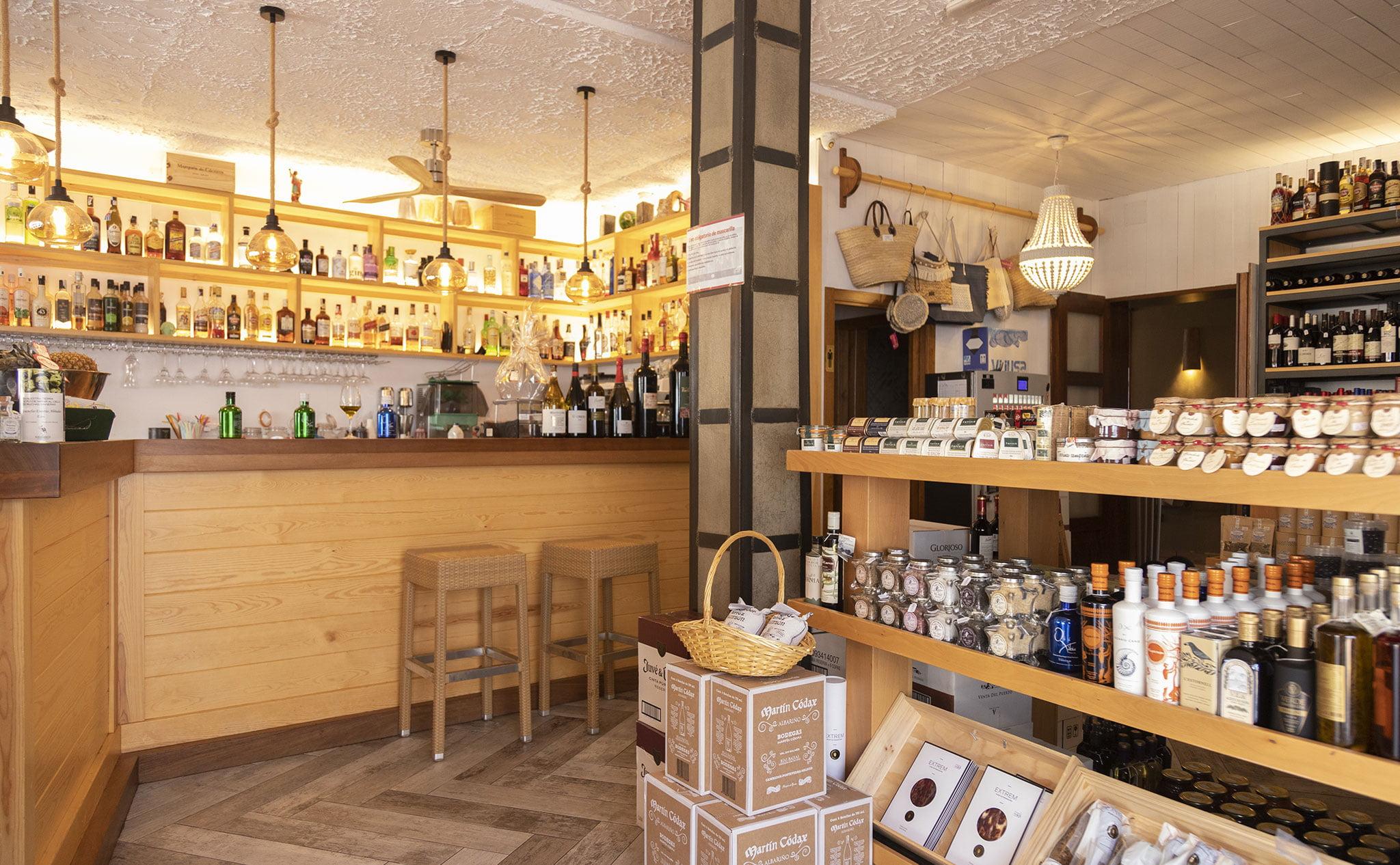 Interior de El Celler de La Fontana – Restaurante La Fontana