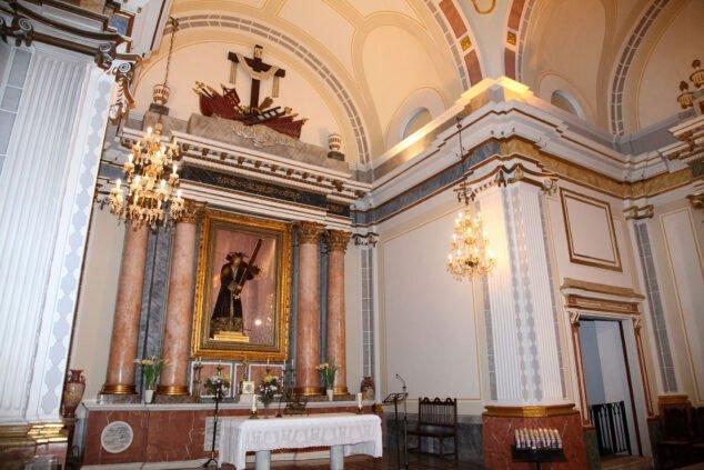 Imagen: Jesús Nazareno en la Ermita del Calvario de Jávea
