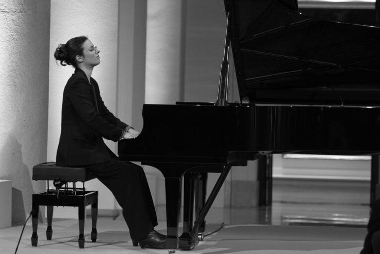 Marta Espinós al piano