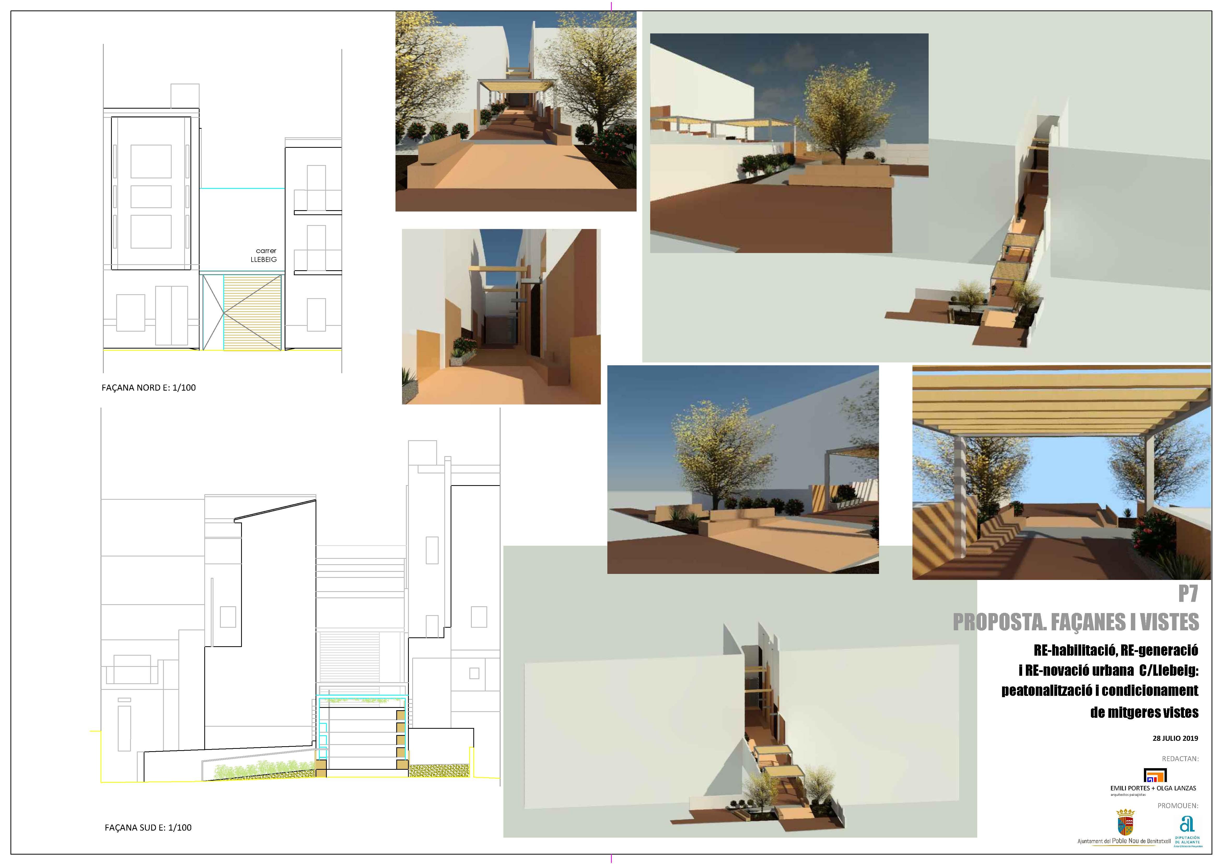 Planos Proyecto Carrer Llebeig Benitatxell