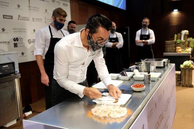Imagen: Quique Dacosta en Gastrónoma Valencia 2020