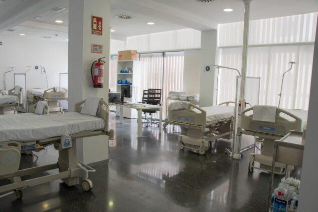 Imagen: Sala de Urgencias del Hospital de Dénia