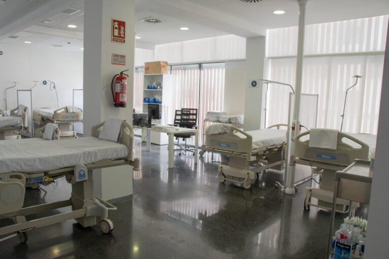 Sala de Urgencias del Hospital de Dénia