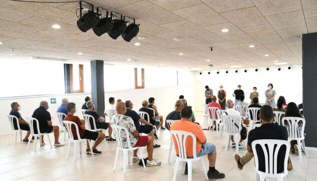 Imagen: Trabajadores plan social Xabia