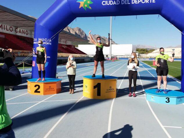 Imagen: Triplete de atletas del Llebeig