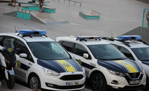 Immagine: veicoli della polizia locale