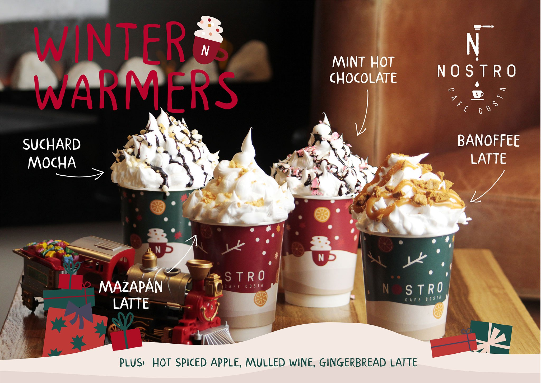 Cafés especiales para esta Navidad 2020 – Nostro Café Costa