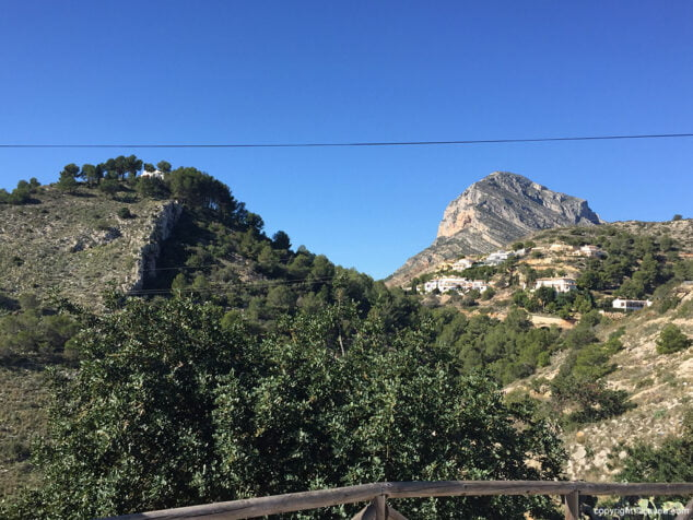 Imagen: Santa Llúcia y Montgó