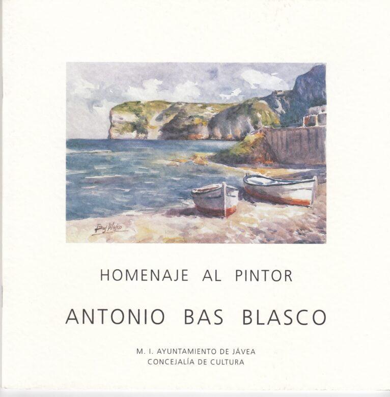 Homenaje al pintor Antonio Bas Blasco en 2002