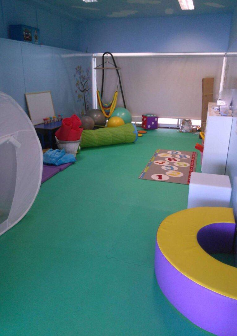 Aula sensorial del Colegio L'Arenal de Xàbia