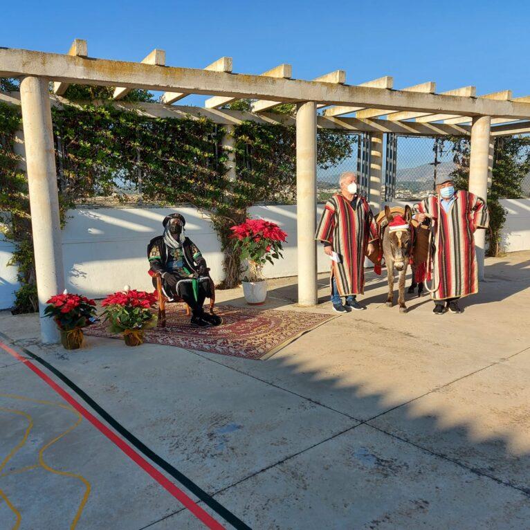 Burrita de Navidad en El Poble Nou de Benitatxell