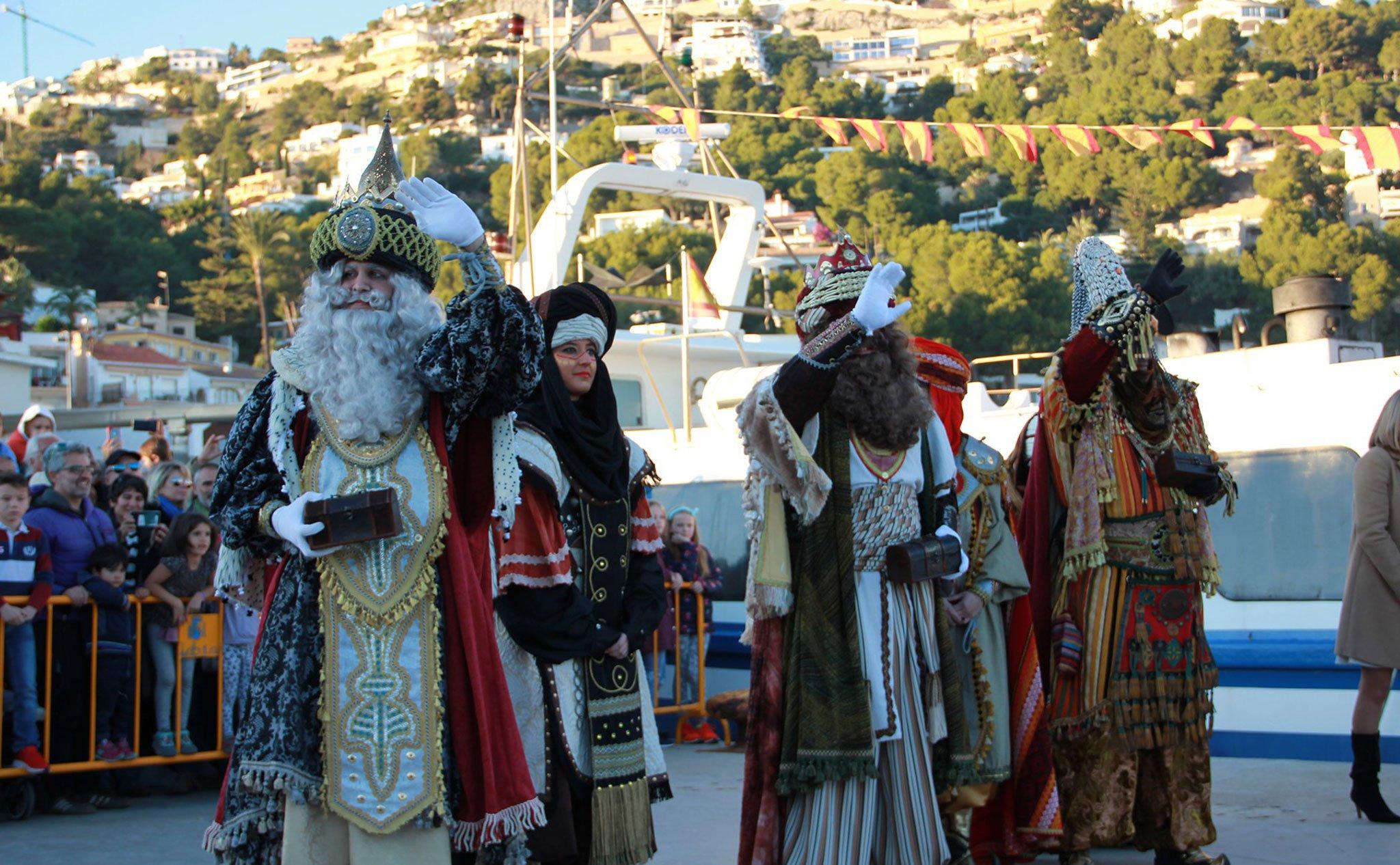Desembarco de los Reyes Magos en Jávea (2020)