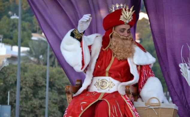 Imagen: Cabalgata de Reyes de Jávea (2019)