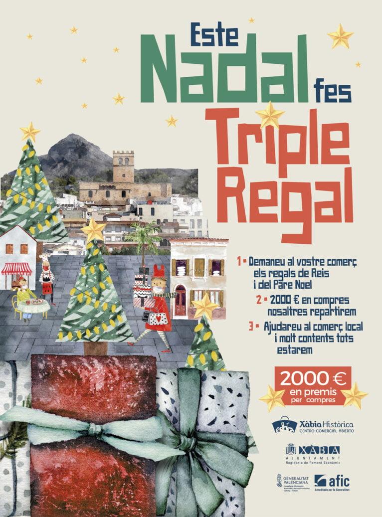 Cartel campaña Navidad Asociaciones