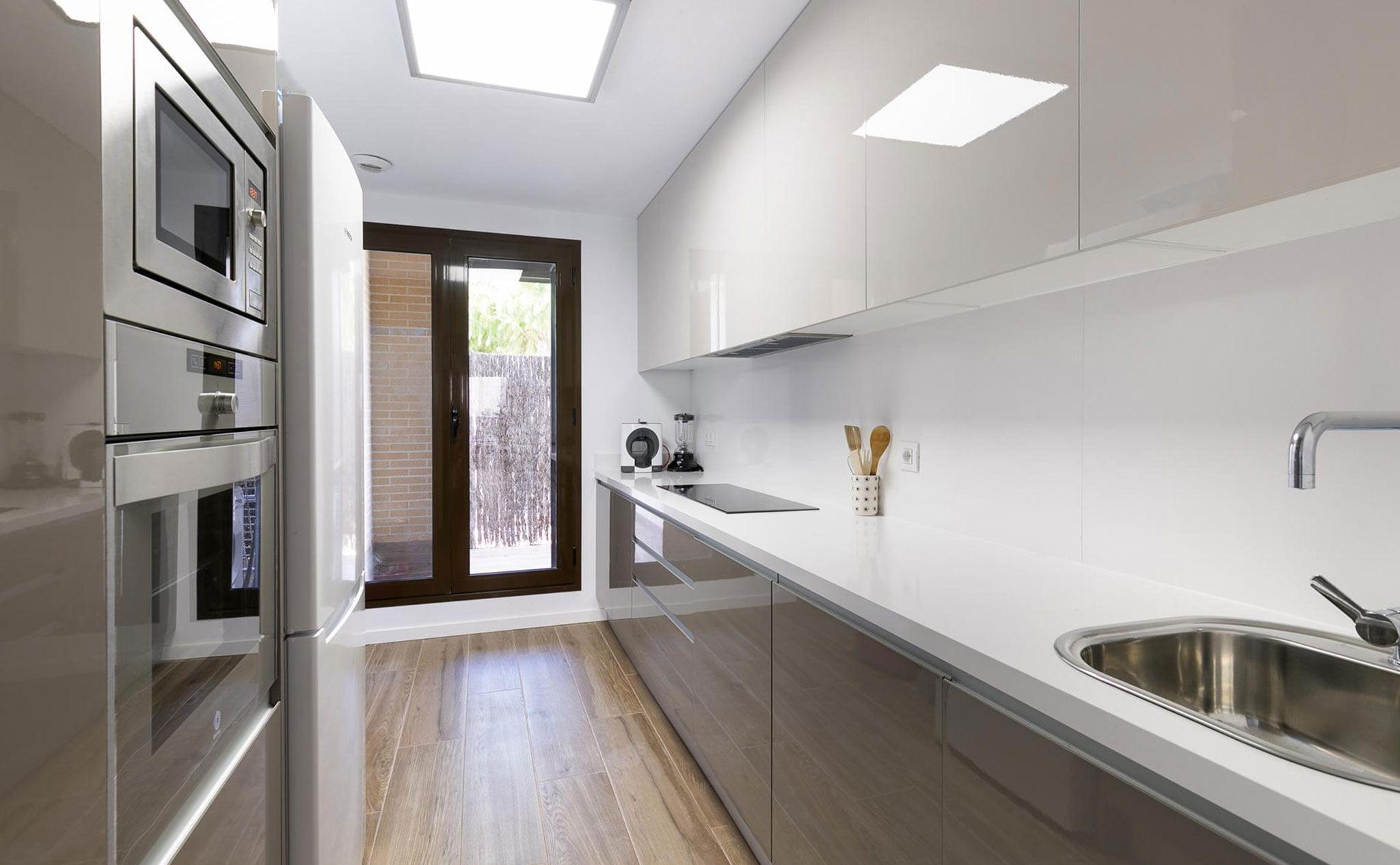Cocina de un apartamento de vacaciones en Jávea – Quality Rent a Villa