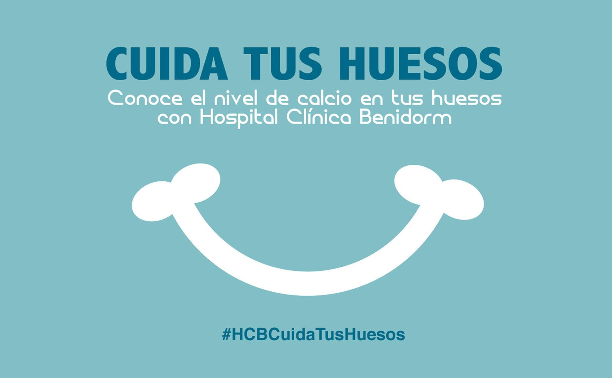 «Cuida tus huesos» – Hospital Clínica Benidorm (HCB)