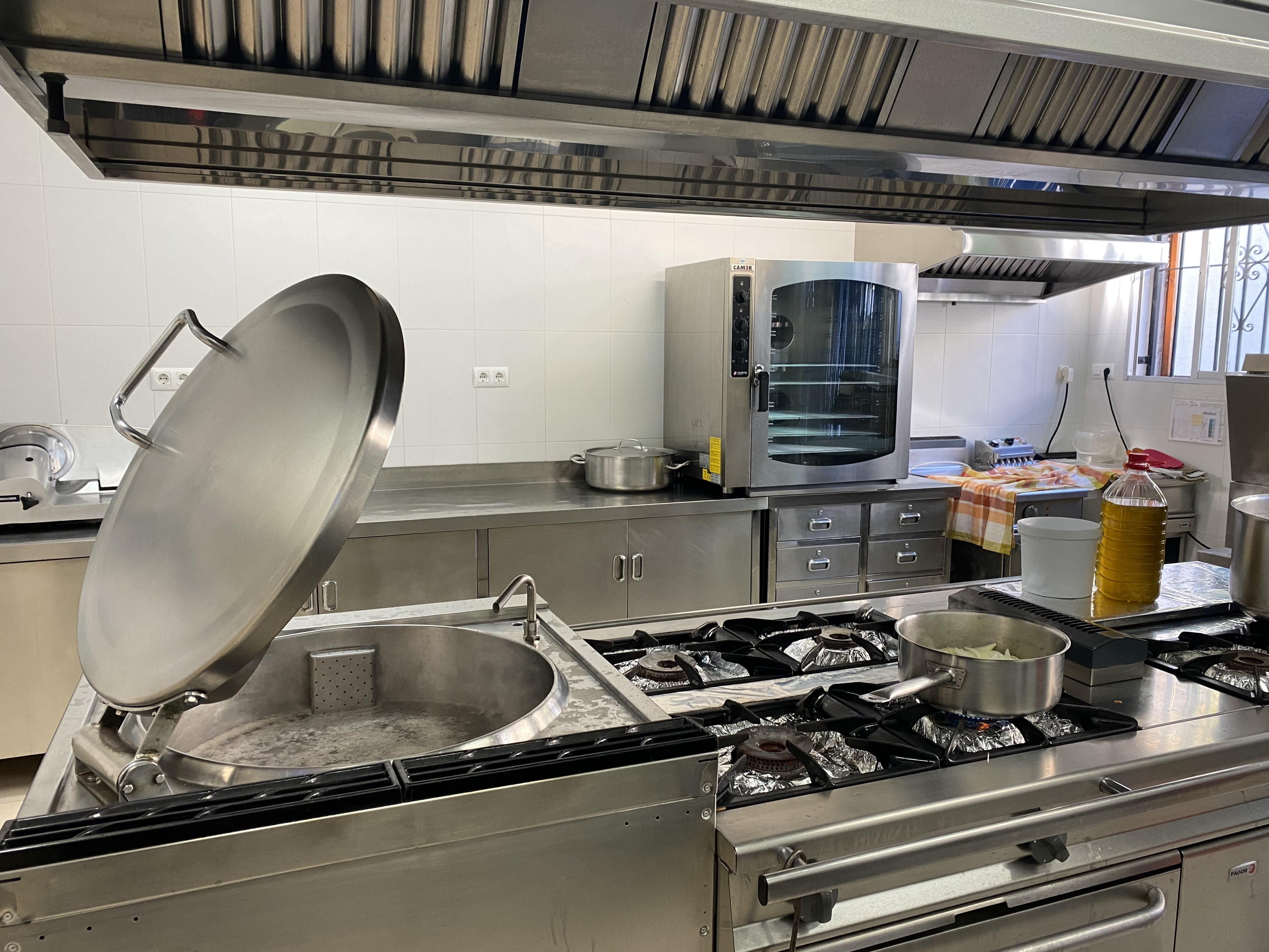 Cocina del CEIP Mediterrània
