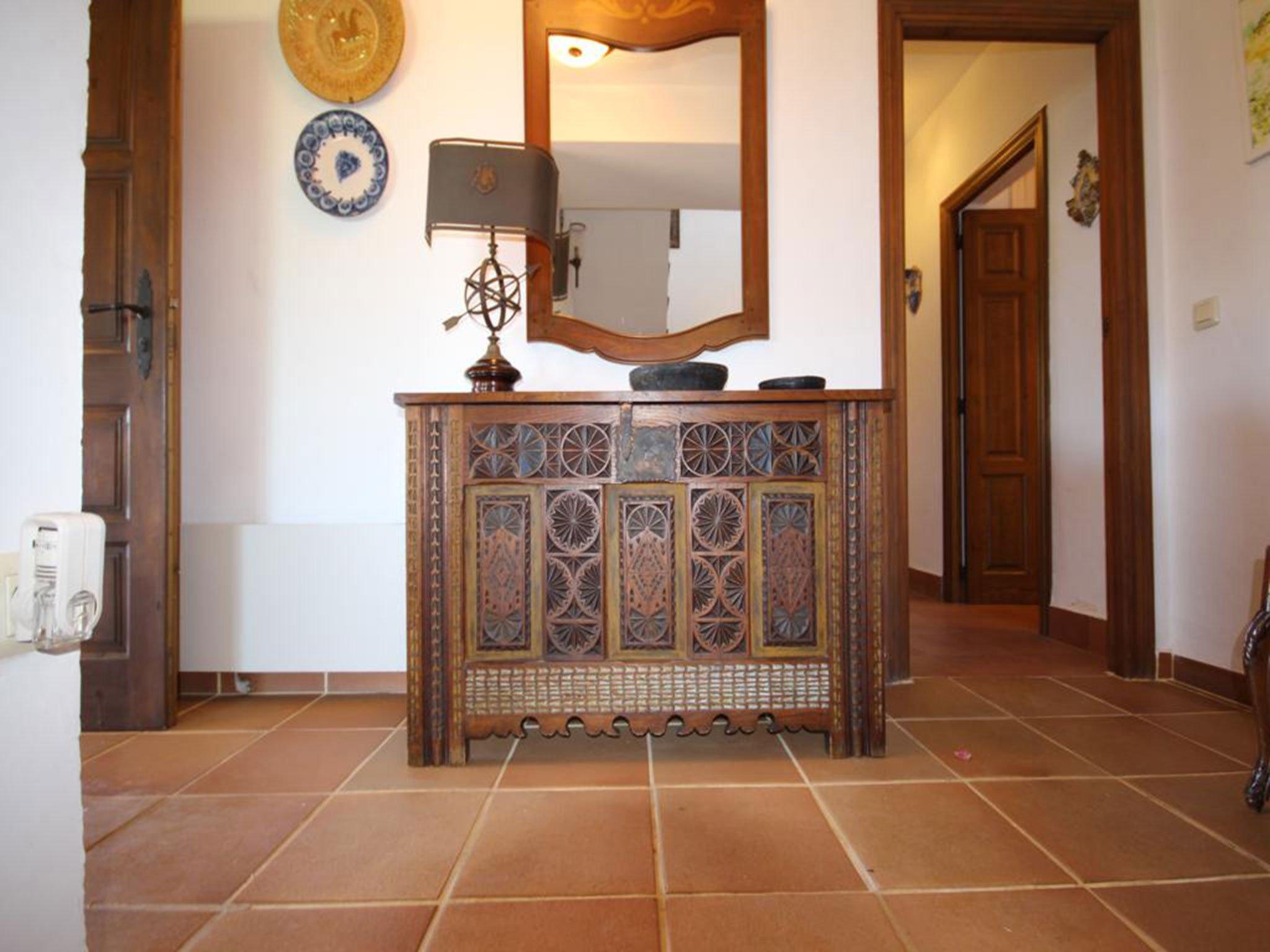 Detalle de una villa mediterránea en venta en Jávea con vistas al mar – Atina Inmobiliaria
