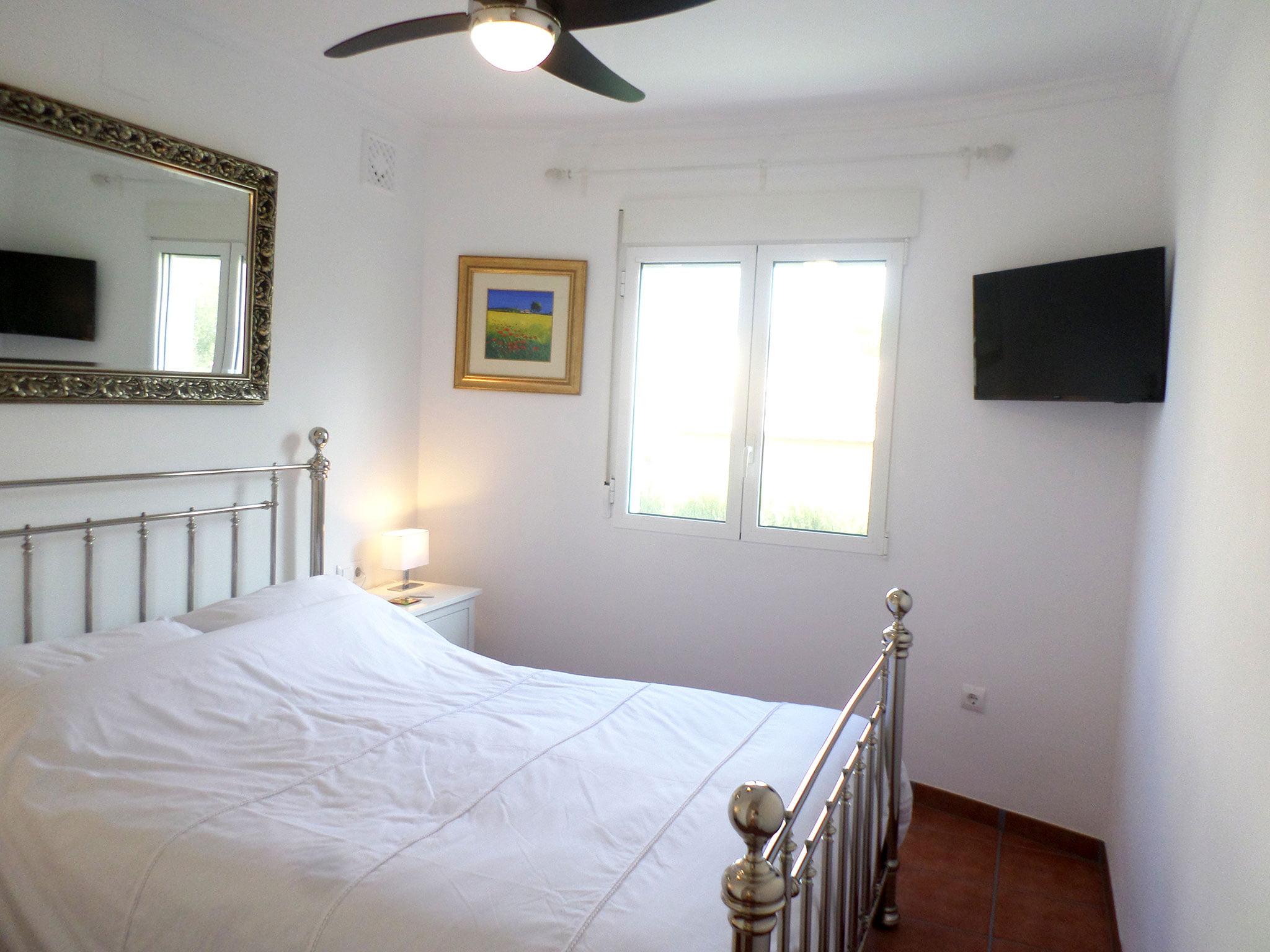 Dormitorio de un bungalow en venta en La Sella – Promociones Denia S.L.
