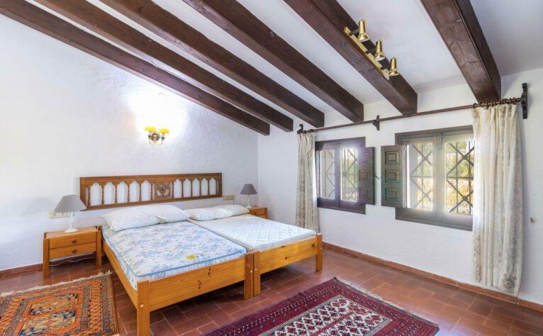 Dormitorio de una finca en venta en Jávea - Vicens Ash Properties
