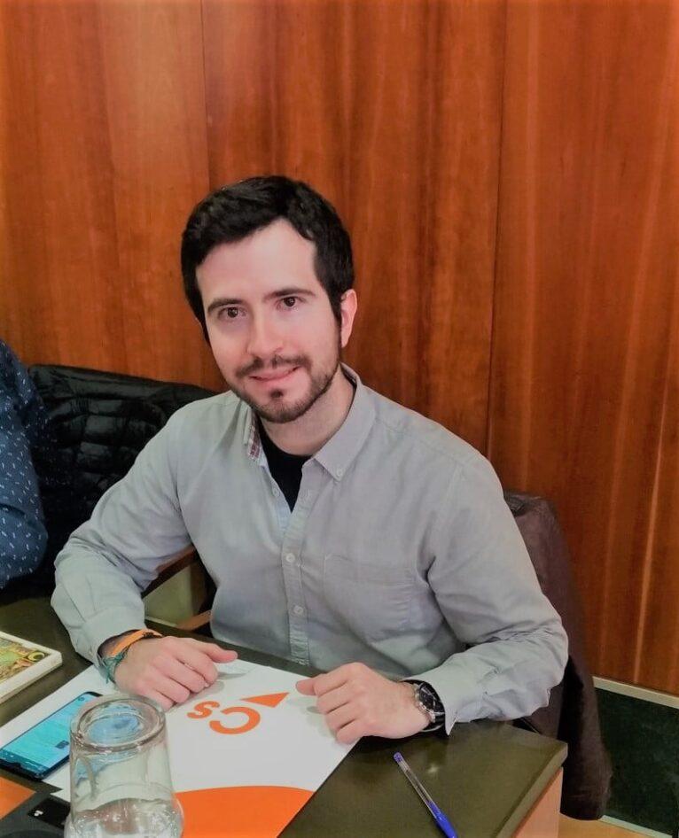 Enrique Escrivá, concejal de Ciudadanos