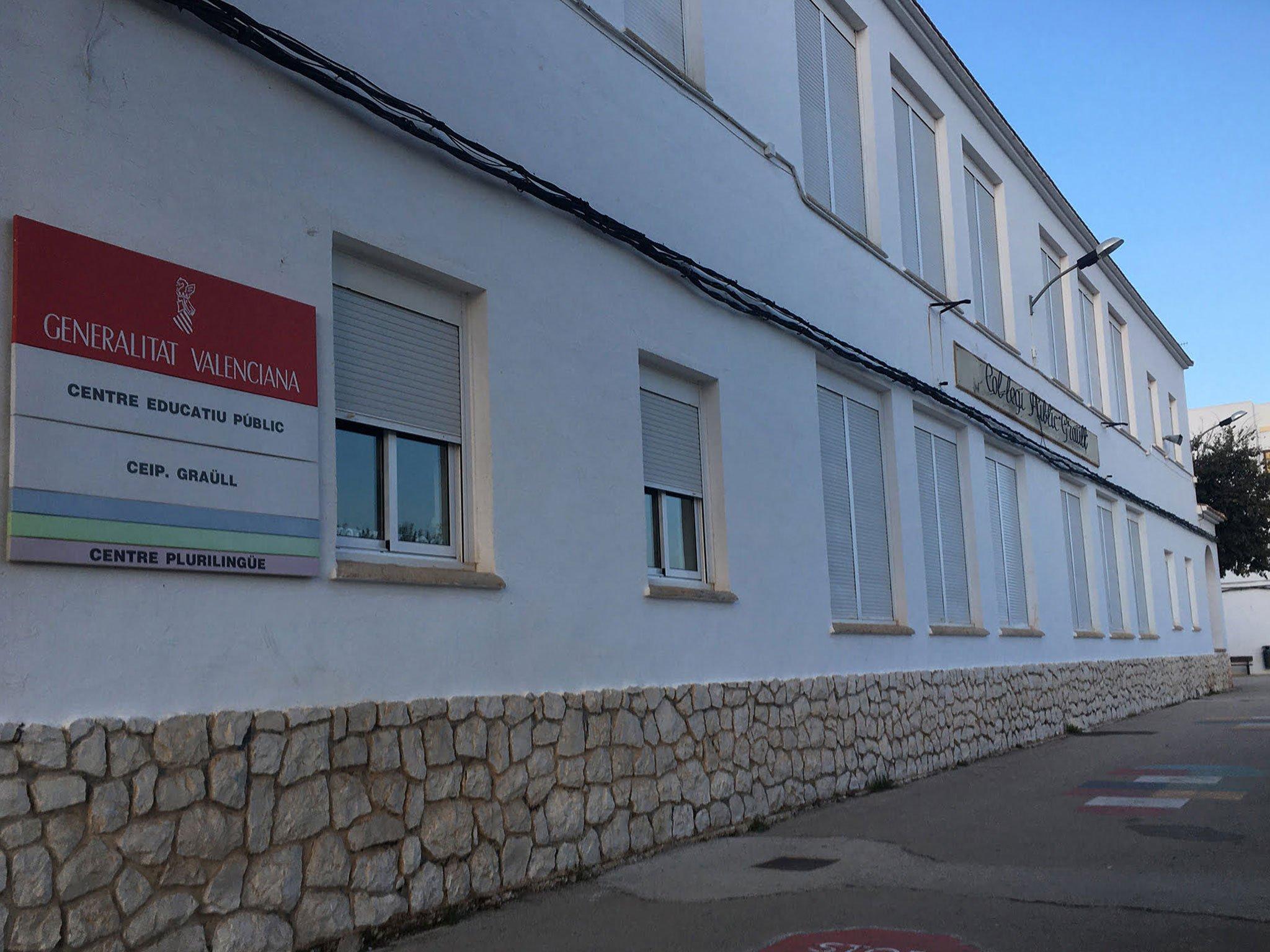 Exterior del Colegio Graüll de Jávea
