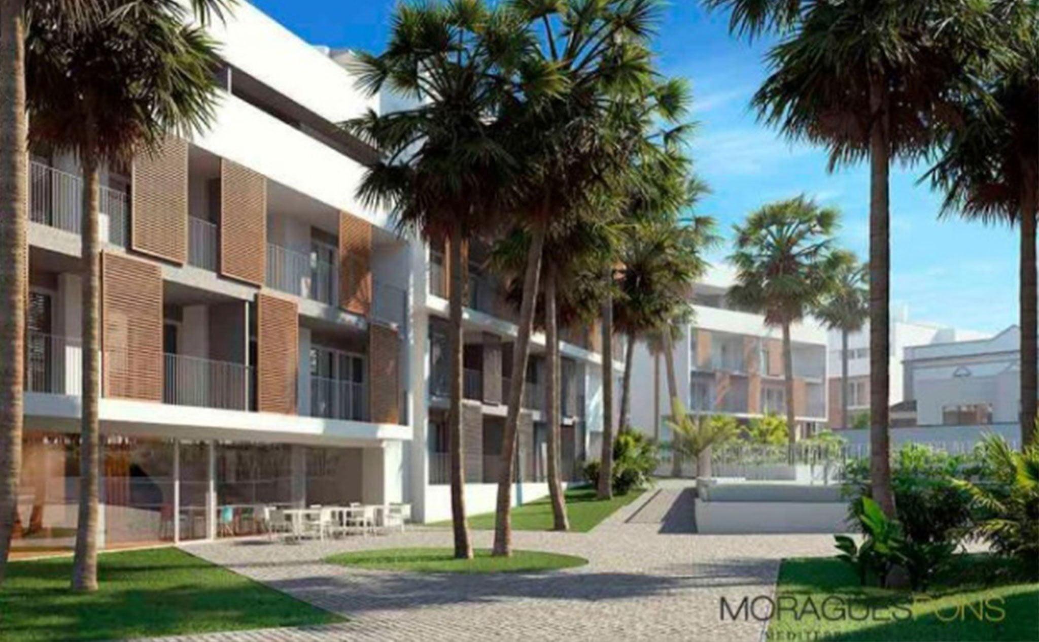 Exterior del Residencial Unic, obra nueva en Jávea – MORAGUESPONS Mediterranean Houses