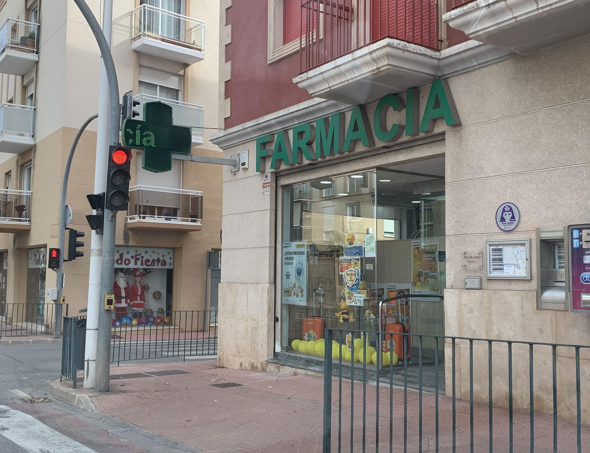 Farmacia Ana Lillo de Jávea