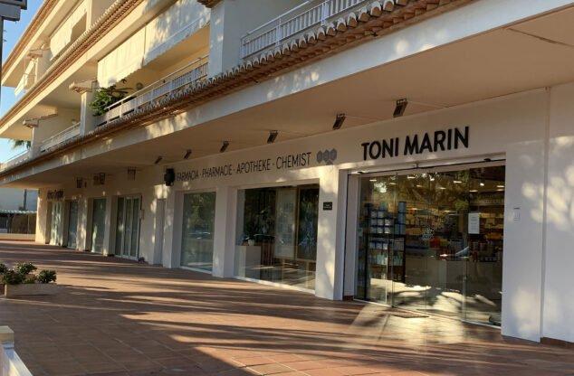 Imagen: Farmacia Toni Marín de Jávea