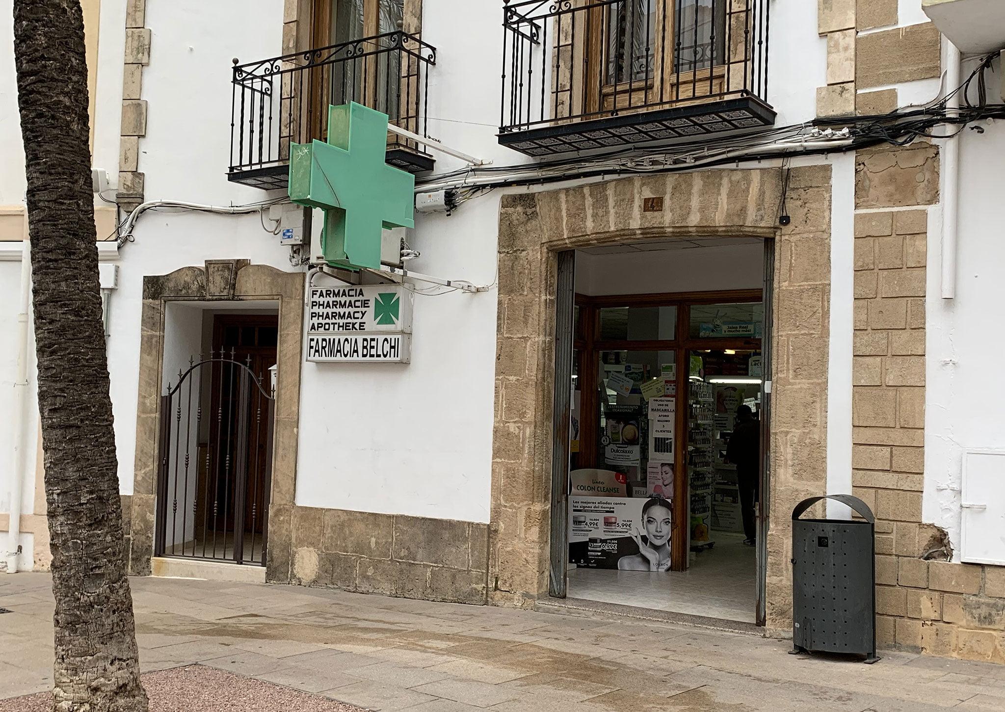 Farmacia Belchi de Jávea