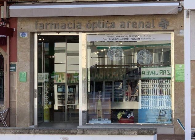 Imagen: Farmacia Arenal de Jávea