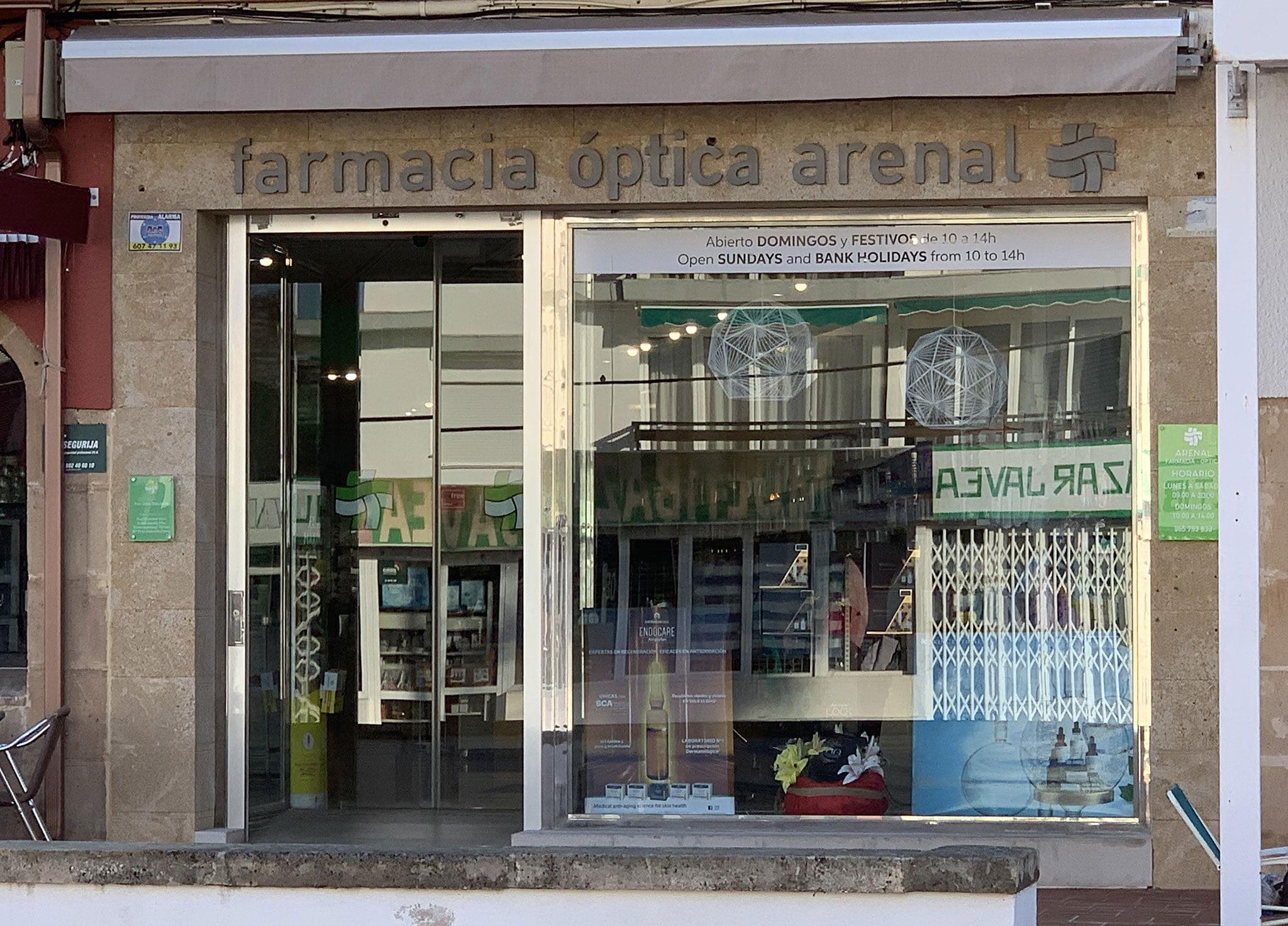 Farmacia Arenal de Jávea